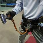 墜落阻止器具のランヤード(ロープ)を交換するのは不当な改造ですから、やめましょう。