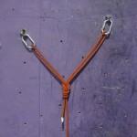 結策に要するロープの長さが長すぎる。