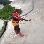 リスク低下措置後の作業:特別教育実技訓練